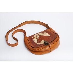 Leather Shoulder Bag (Item No. 601)